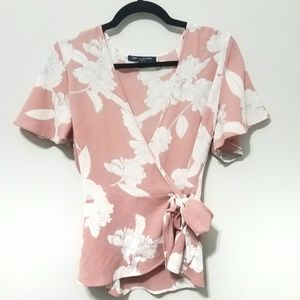 One clothing Los Angeles floral blouse